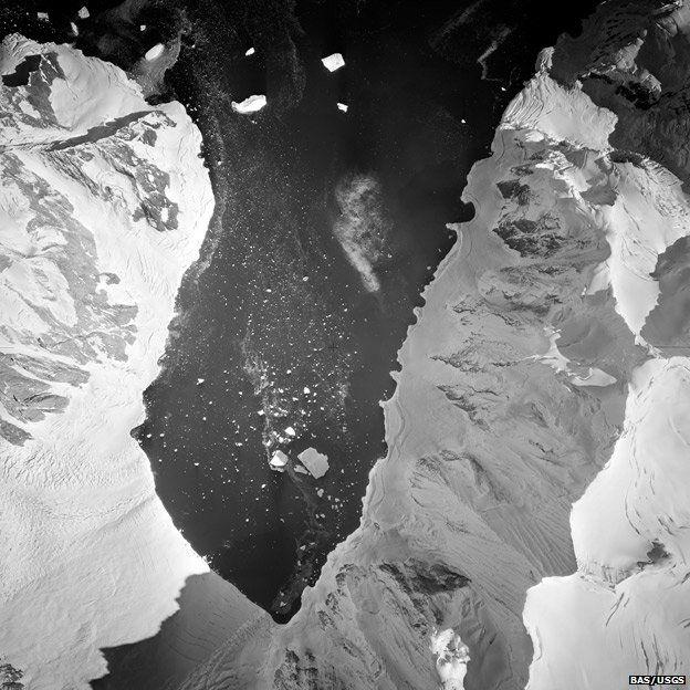 Bolton Glacier 1957