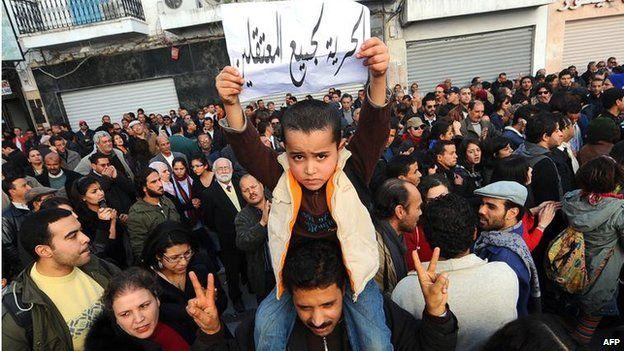 2011 anti-government protests in Tunisia