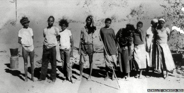 The Pintupi Nine in 1984