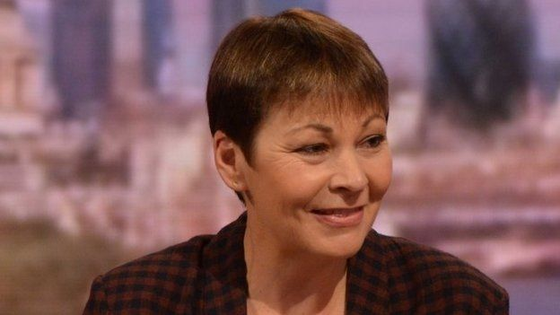 Former Green Party leader and MP for Brighton Pavilion Caroline Lucas