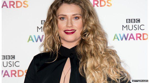 Ella Henderson at the BBC Music Awards