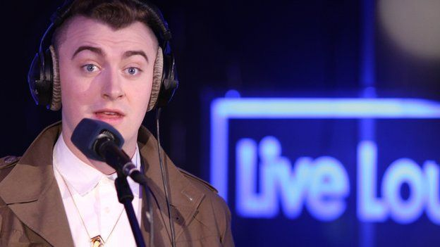 Sam Smith in the Radio 1 Live Lounge