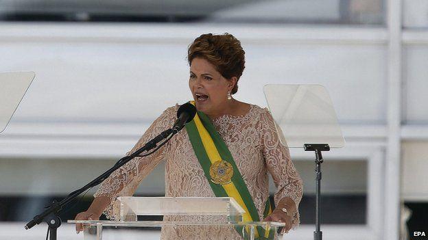 Dilma Rousseff in Brasilia