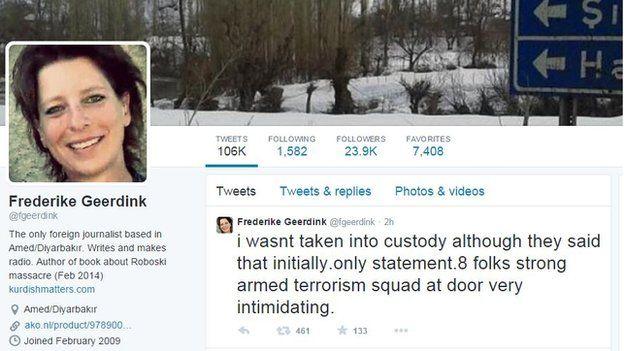 frederike geerdink twitter page 6 January 2015