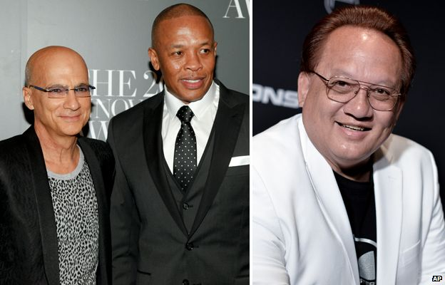 Jimmy Iovine, Dr Dre and Noel Lee