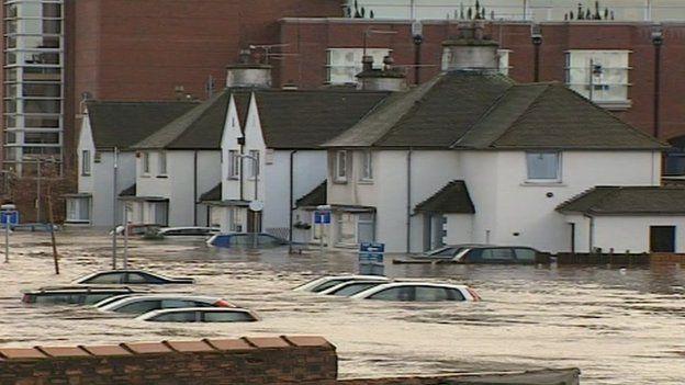 Flooded Carlisle