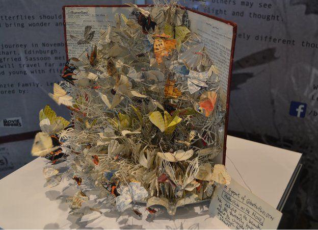Butterflies sculpture