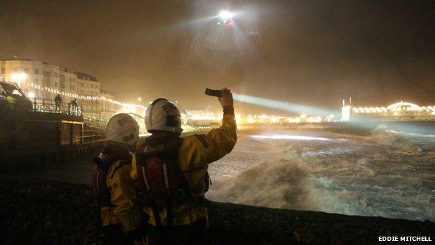 Brighton sea search
