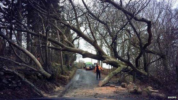 SHEPD technical staff at Balmaha near Loch Lomond