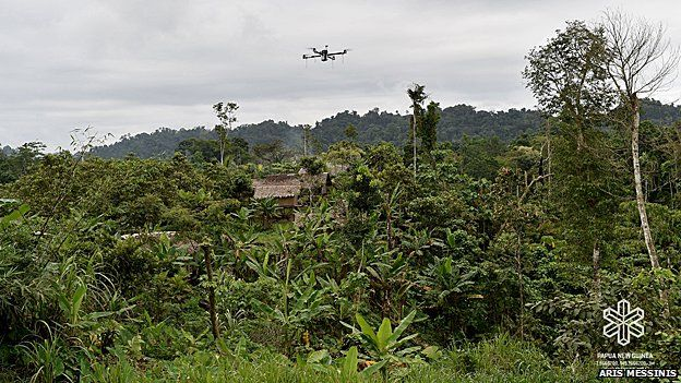 Matternet's quadcopter in medical field trials in Papua New Guinea