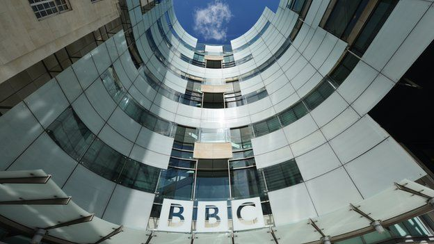 The BBC's home at New Broadcasting House