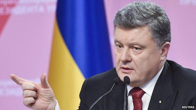 President Poroshenko - Dec 2014 file pic