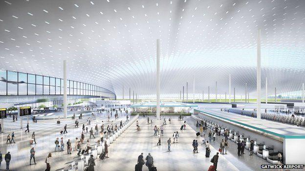 Gatwick Airport design