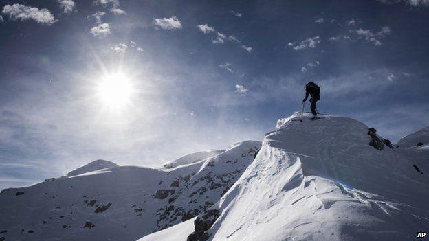 Mountain in Davos