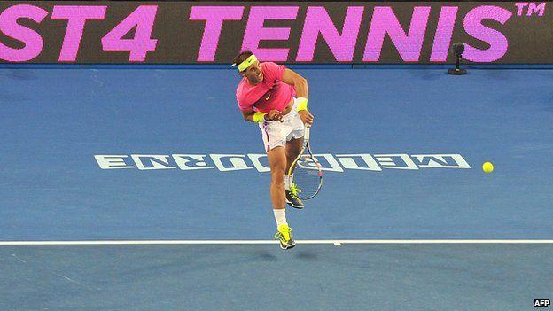 Rafael Nadal playing Fast4