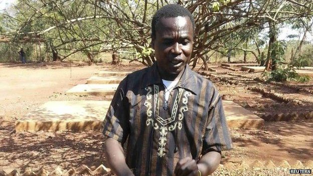 Dominic Ongwen in the Central African Republic (14 January 2015)