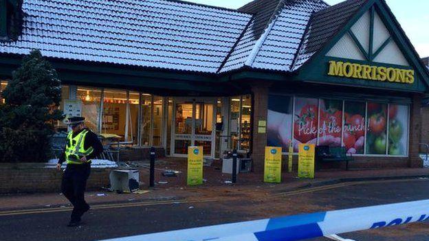 Morrisons crime scene