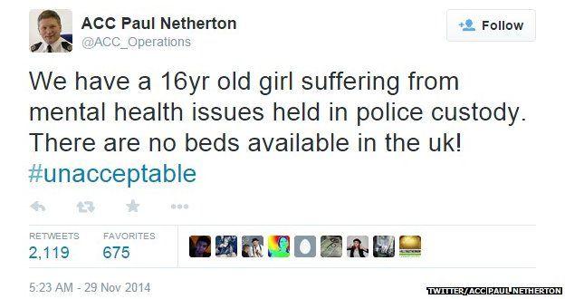 Paul Netherton's tweet
