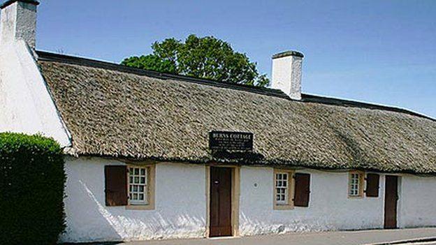 Burns birthplace