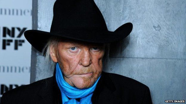 Edgar Froese of Tangerine Dream attends the The Music of Grand Theft Auto V Panel at Elinor Bunin Munroe Film Center on October 1, 2013 in New York City
