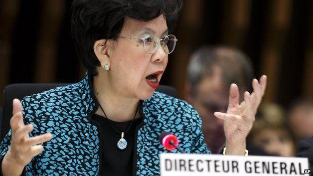 Dr Margaret Chan, 25 Jan