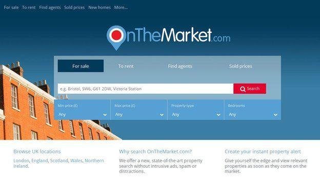 Onthemarket website