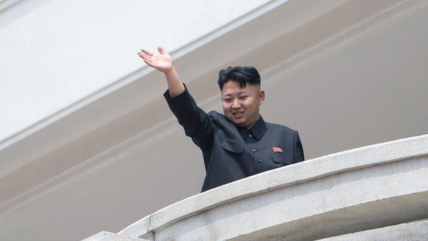 North Korean leader Kim Jung-un