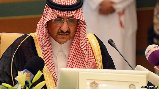 Prince Mohammed bin Nayef, pictured in Riyadh in 2012