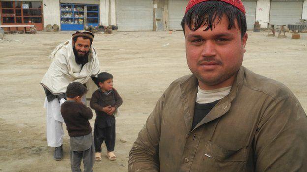 Kabul truck driver Wajid, 28 January 2015
