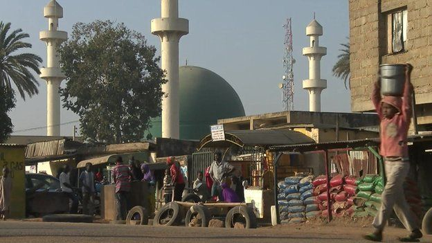 Mosque in Jos city, January 2015