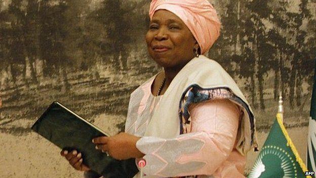AU commission chair Nkosazana Dlamini-Zuma