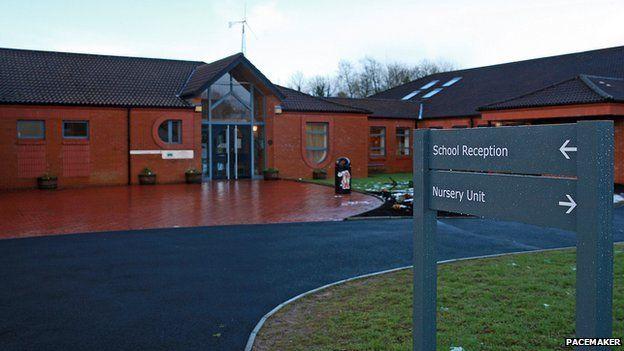 Howard Primary School in Moygashel, County Tyrone
