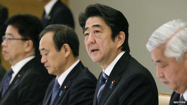 Shinzo Abe, 1 Feb