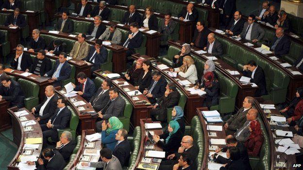 Tunisia's parliament on 4 February 2015