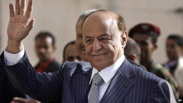 Yemeni President Abed Rabbo Mansour Hadi,