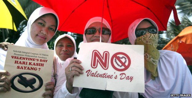 Two years ago hundreds of students in Jambi, on Sumatra island, and Solo, in Central Java, held Valentine's Day protests.