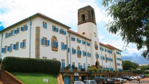 Makerere University in Uganda