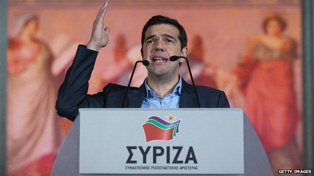 Alexis Tsipras, 25 Jan 15