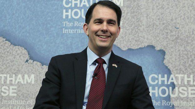 Wisconsin Governor Scott Walker.