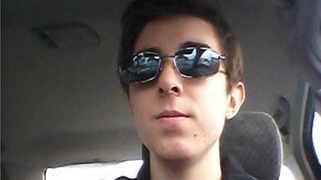 Image of James Gamble - allegedly involved in Halifax, Canada mass-shooting plot from Facebook