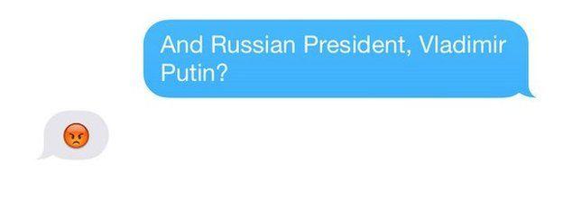 Julie Bishop's Putin reply
