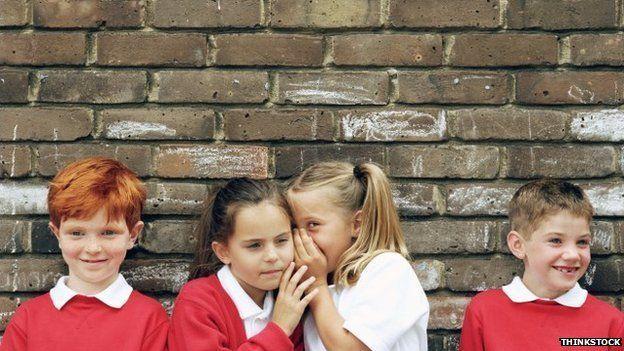 whispering children