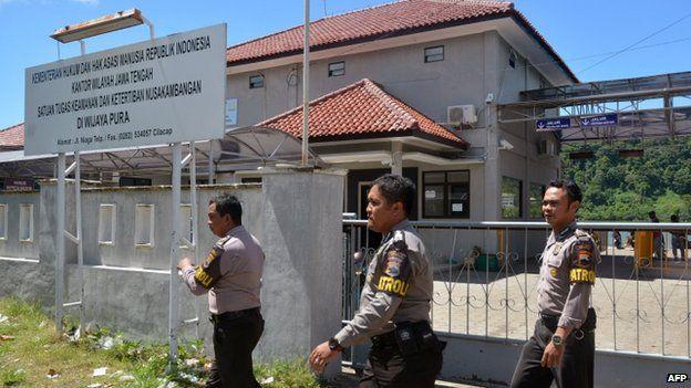 Indonesia's Nusakambangan prison, pictured in 2015