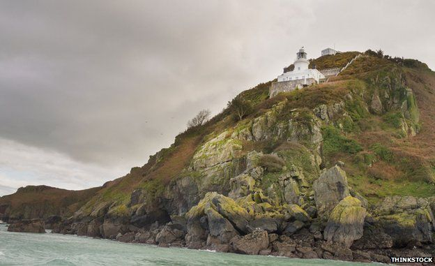 A coastal picture of Sark