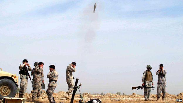 Afghan forces, 18 Feb Helmand