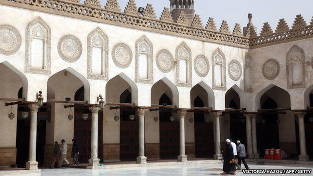 The al-Azhar University in Egypt