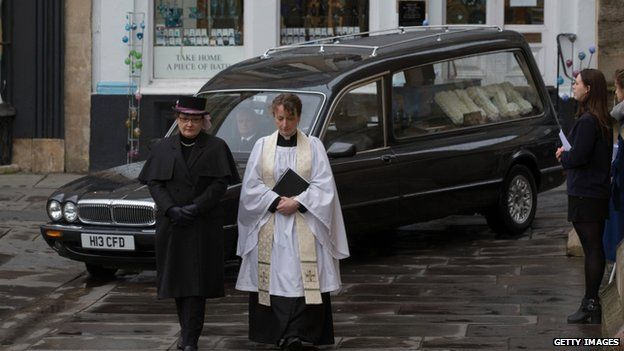 Funeral of Mitzi Steady