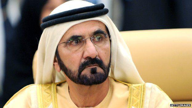 UAE vice-president and ruler of Dubai Sheikh Mohammed