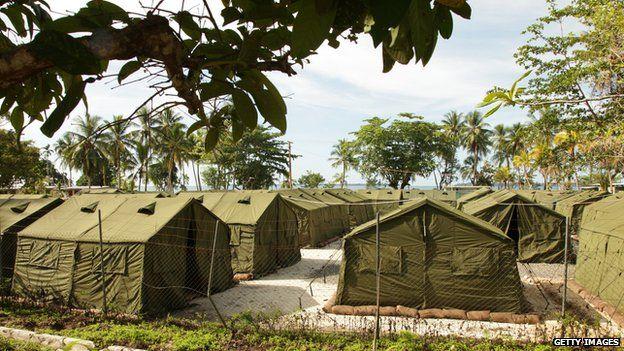 Australia's refugee detention centre on Manus Island