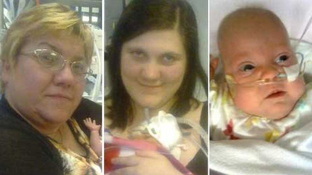 Kim, Kayleigh a Kimberley Buckley